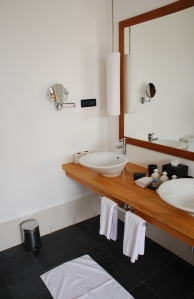Interior detail of a modern bathroom