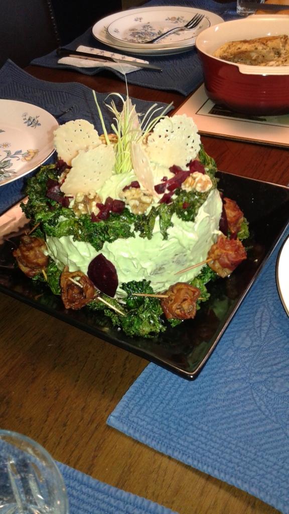 Karen's Veggie Birthday Cake Supreme